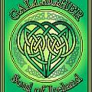 Gallagher Soul Of Ireland Art Print