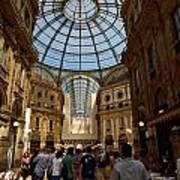 Galleria Vittorio Emanuele. Milano Milan Art Print
