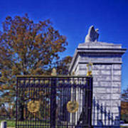 Gate To Arlington Cemetery Art Print