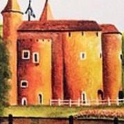 Gateway To Brugge Art Print