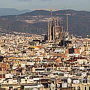 Gaudi La Sagrada Familia Barcelona  Art Print