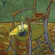Gauguin's Chair Art Print