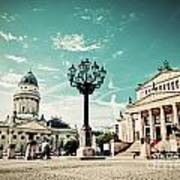Gendarmenmarkt In Berlin Germany Art Print