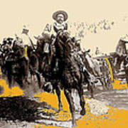 General Pancho Villa At Ojinaga A Military Triumph 1916-2008 Art Print