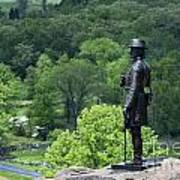 General Warren At Little Round Top Art Print