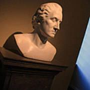 George Washington Dark Blue -- Horatio Greenough Art Print