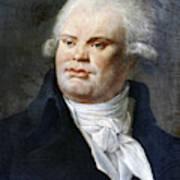 Georges-jacques Danton (1759-1794) Art Print