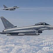 German Eurofighter Typhoon Jets Art Print