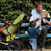 Germany Debates Expanding Parental Leave Art Print