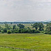 Gettysburg Battlefield Art Print