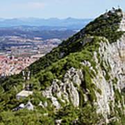Gibraltar Rock Art Print
