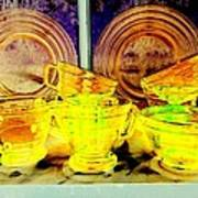 Glassware Art Print
