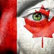 Go Canada Art Print