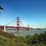 Golden Gate Bridge In San Francisco Art Print