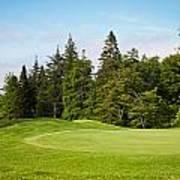 Golf Course Art Print