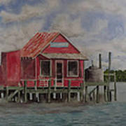 Goodyear Fish House #2 Art Print
