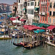 Grand Canal In Venice Art Print