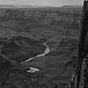 Grand Canyon And Colorado River Art Print