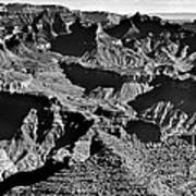 Grand Canyon Navajo Point Panorama At Sunrise  Art Print