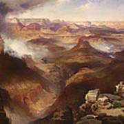 Grand Canyon Of The Colorado River Art Print