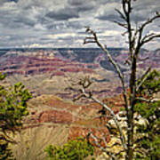 Grand Canyon View From The South Rim Art Print