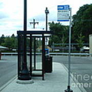 Grand/nordica Cta Bus Terminal Art Print