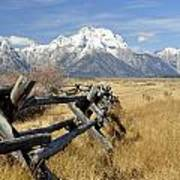Grand Teton Nat'l Park Art Print