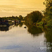 Grand Union Canal In Berkhampsted Art Print