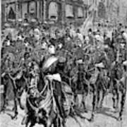 Grant Funeral, 1885 Art Print