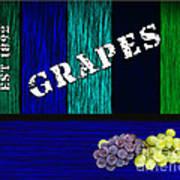 Grape Farm Art Print