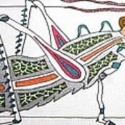 Grasshopper II Art Print