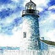 Great Lakes Light II Art Print