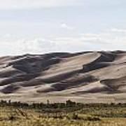 1 Great Sand Dunes Panorama Art Print