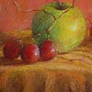 Green Apple Art Print