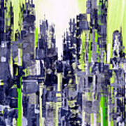 Green City Art Print