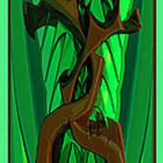Green Deck 9  Art Print