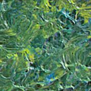 Leaves In The Wind Art Print