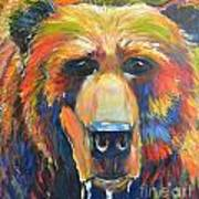 Grizzly Art Print