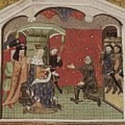 Guesclin, Bertrand Du 1315-1380. French Art Print