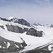Gulkana Glacier Art Print