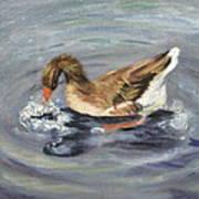 Gus The Goose Art Print