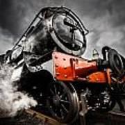 Gwr Steam Train Art Print