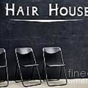 Hair House Art Print