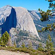 Half Dome From Sentinel Dome Trail In Yosemite Np-ca Art Print