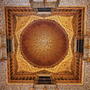 Hall Of Ambassadors In The Royal Alcazar Of Seville Art Print