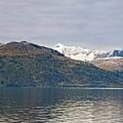 Hanging Glaciers And Chugach Mountiains Art Print