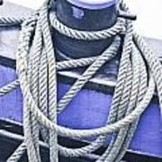 Harbour Rope Art Print