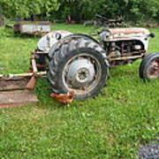 Hard Days Work Farm Tractor Art Print