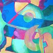 Harmony In G Art Print by Diane Fine