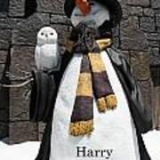Harry Christmas Art Print